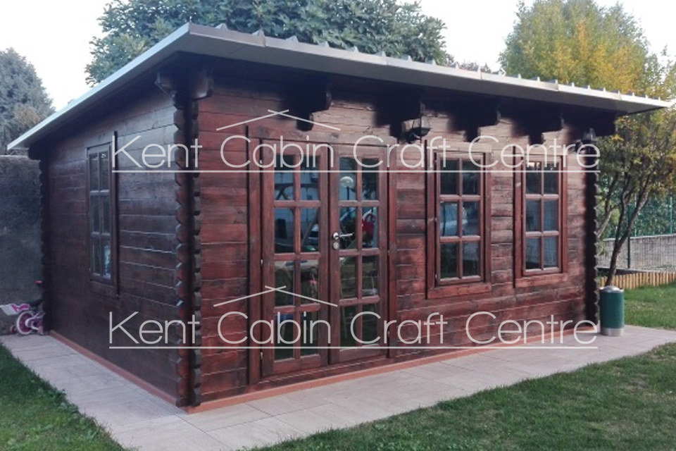 Image of the Atlant Log Cabin - Kent Cabin Craft Centre