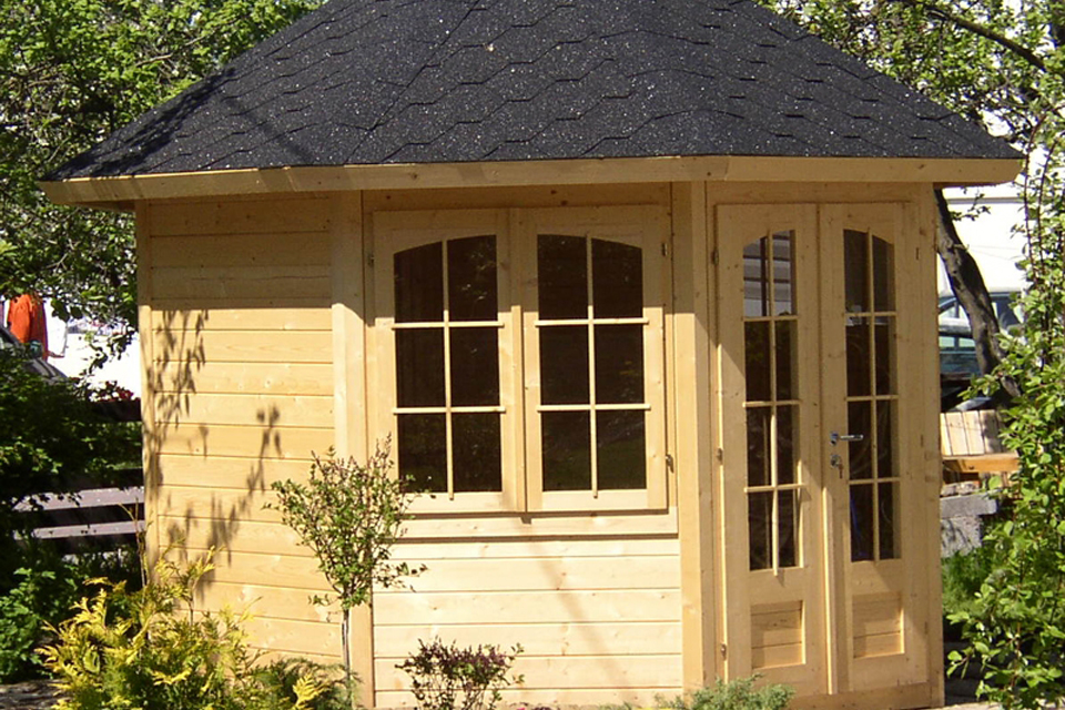 Image of the August Log Cabin - Kent Cabin Craft Centre