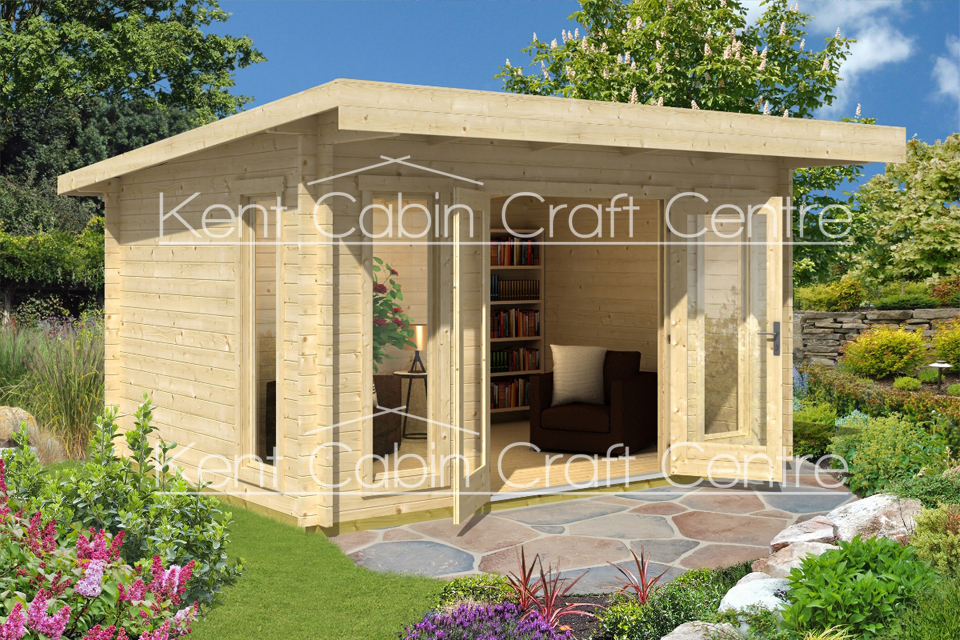 Image of the Barbados Log Cabin - Kent Cabin Craft Centre