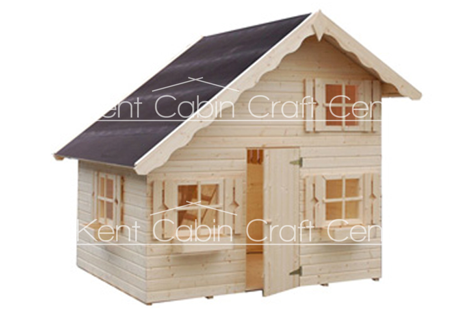 Image of The Beavers Loft Log Cabin - Kent Cabin Craft Centre