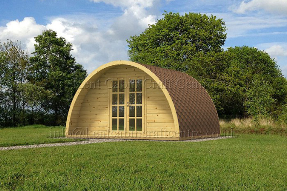 Image of Camping Pod - Kent Cabin Craft Centre