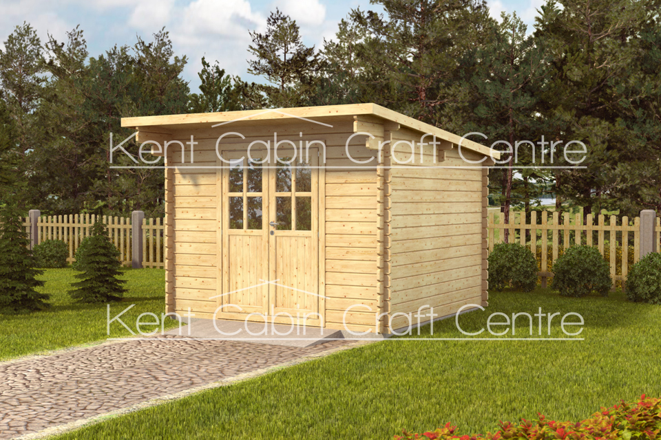 Image of the Douglas Log Cabin - Kent Cabin Craft Centre
