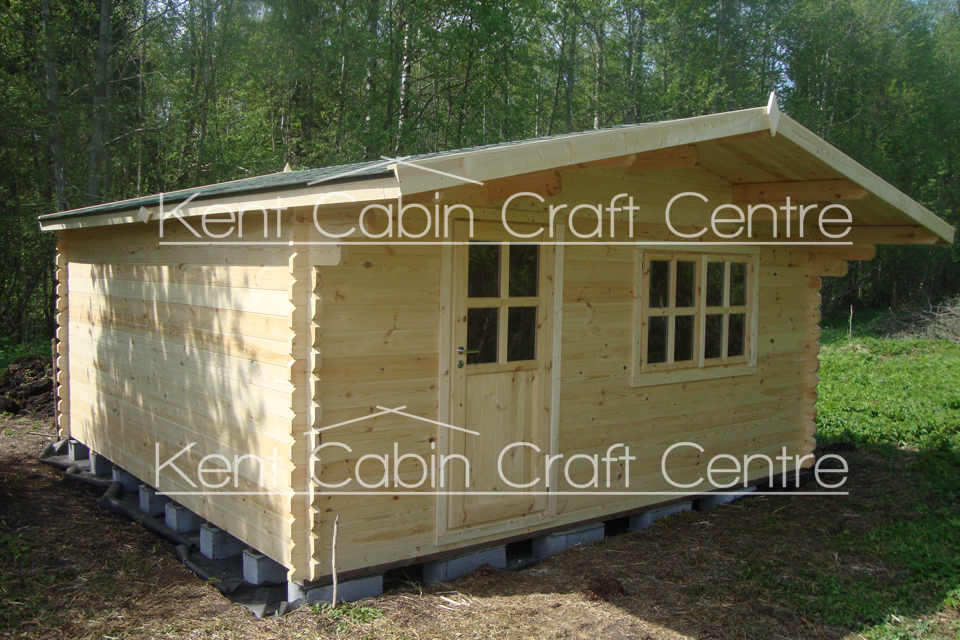 Image of The Idaho Loft Log Cabin - Kent Cabin Craft Centre