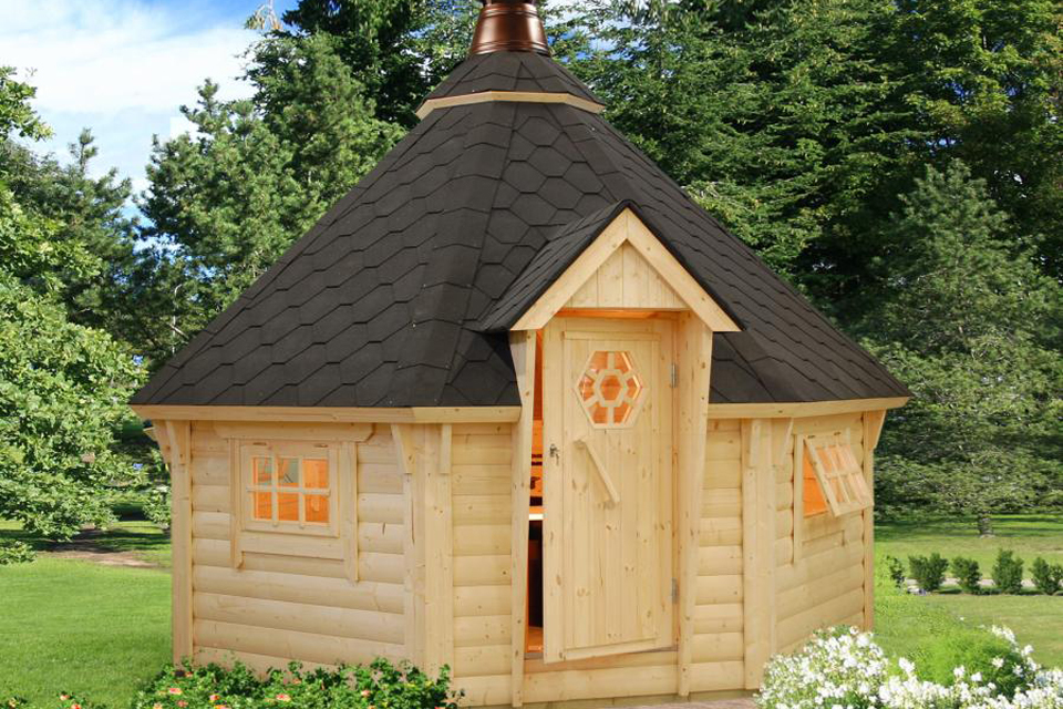 Image of the May Log Cabin - Kent Cabin Craft Centre