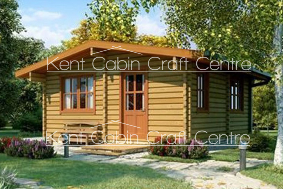 Image of the McCloud Log Cabin - Kent Cabin Craft Centre