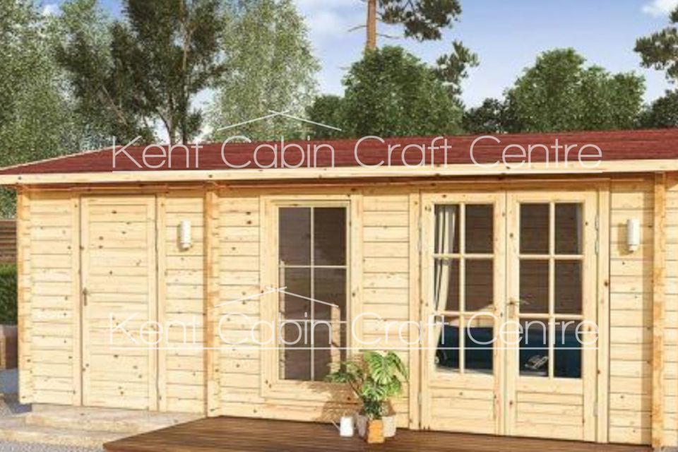 Image of The Vancouver Log Cabin - Kent Cabin Craft Centre