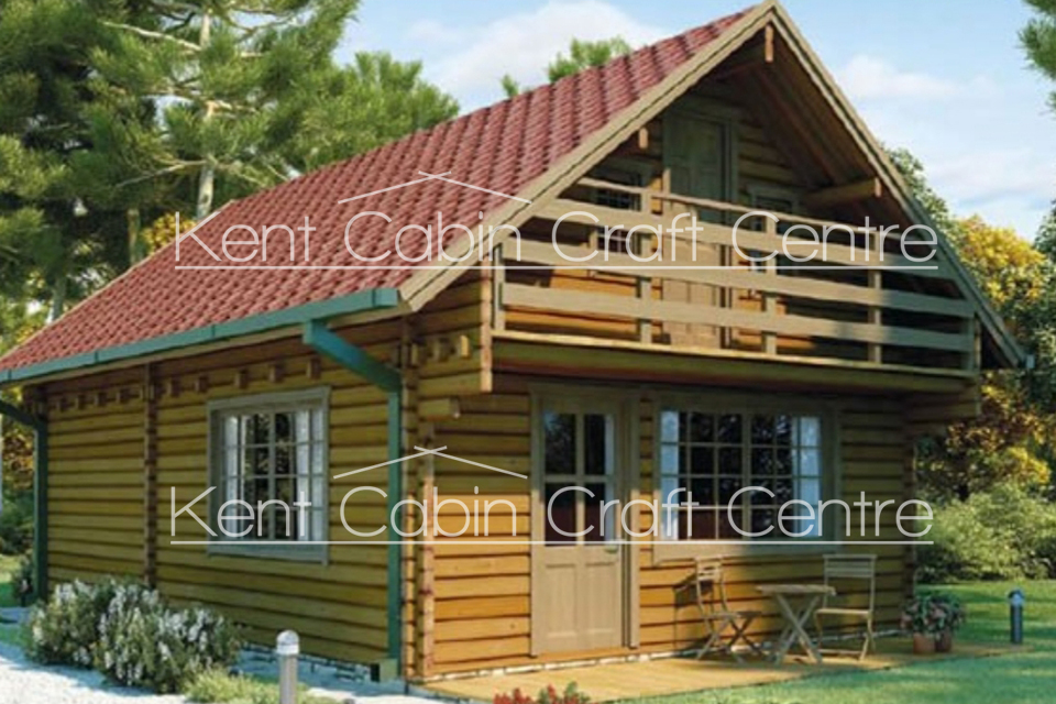 Image of the Orlando Log Cabin - Kent Cabin Craft Centre