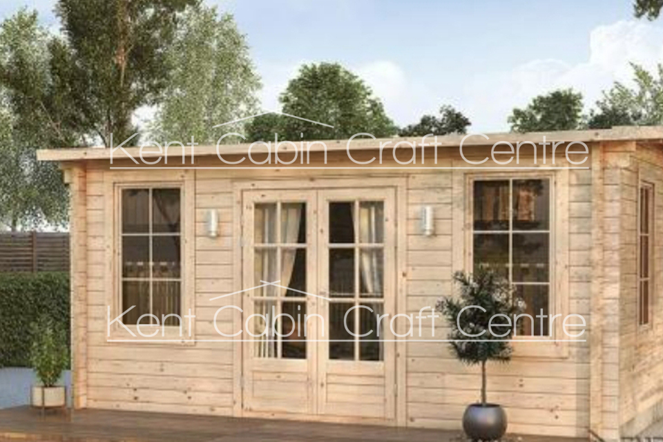 Image of the Torino Log Cabin - Kent Cabin Craft Centre