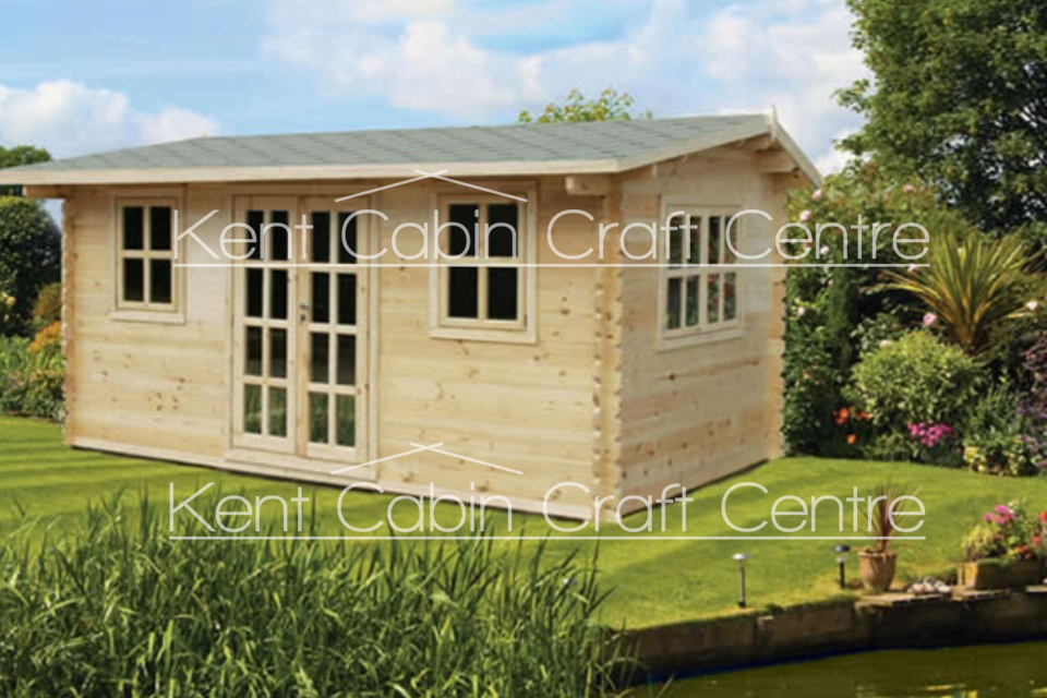Image of The UtahLoft Log Cabin - Kent Cabin Craft Centre
