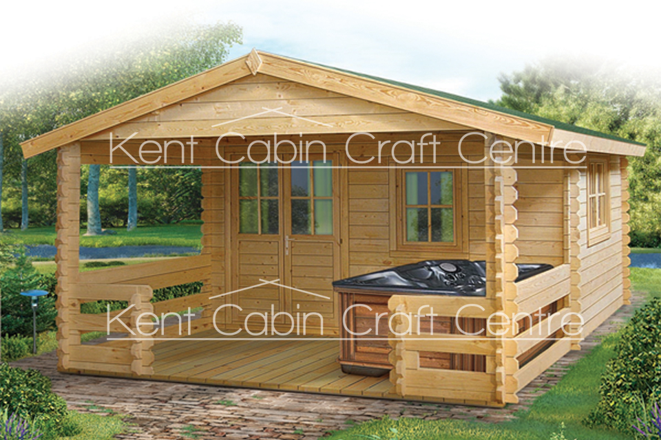 Image of the Vermont Log Cabin - Kent Cabin Craft Centre