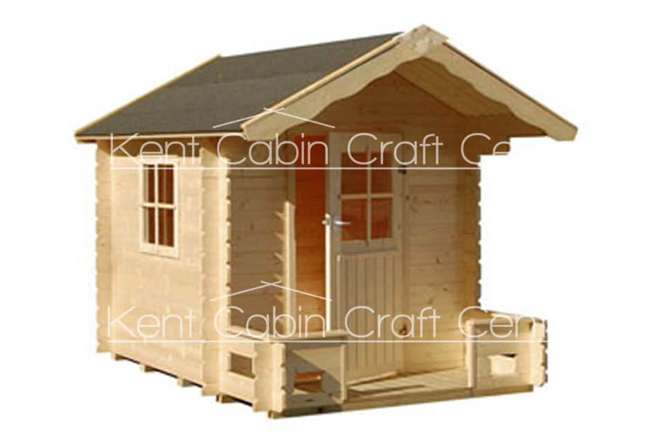 Image of The Wildwood Log Cabin - Kent Cabin Craft Centre