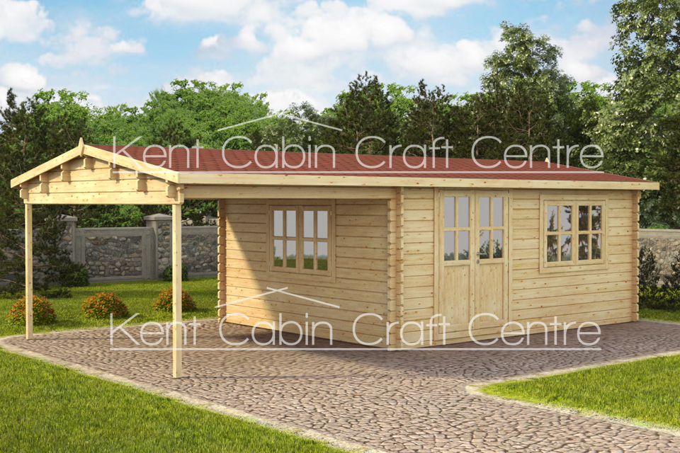 Image of the Willcox Log Cabin - Kent Cabin Craft Centre