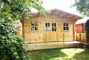 Kent Cabin Craft Centre - Decking