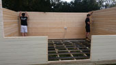 Image of Log Cabin Installation - Kent Cabin Craft Centre