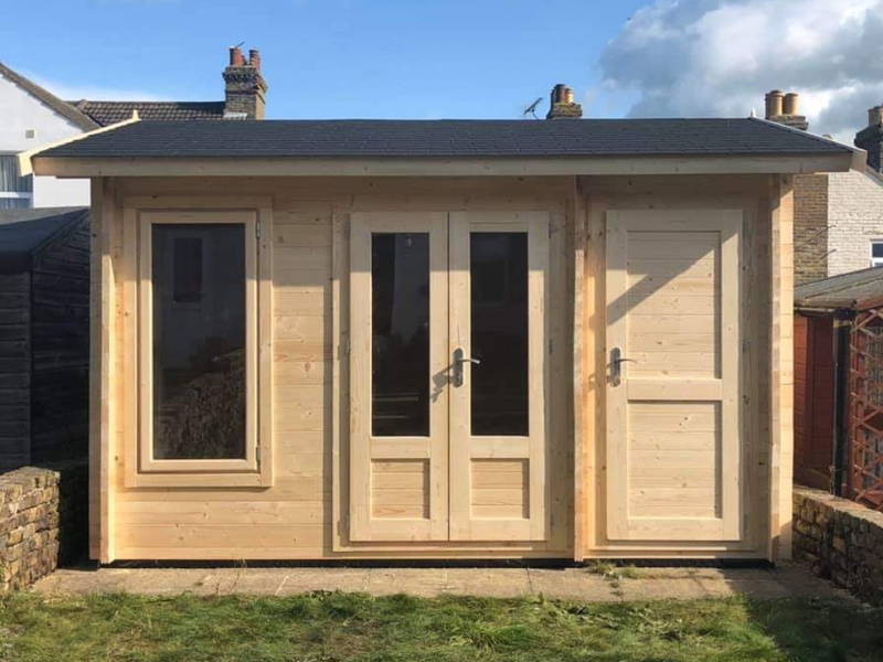 Photo of cabin installed by Kent Cabin Craft Centre Orpington, Kent, October 2019